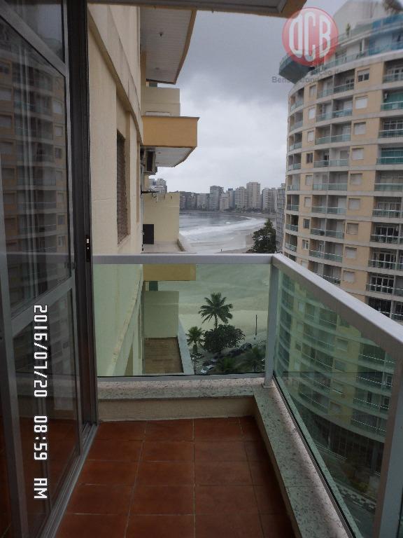 Apartamento  residencial para locação, Barra Funda, Guarujá.