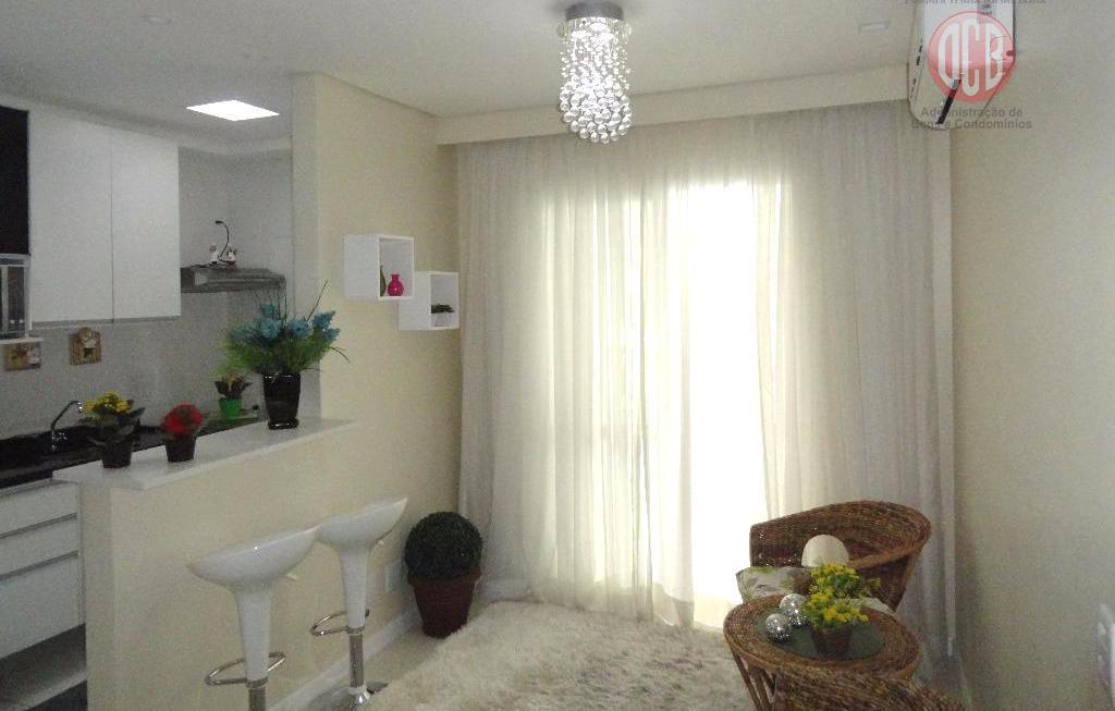 Apartamento  residencial à venda, 2 dorm./1 suíte, 64 m², Marapé, Santos.