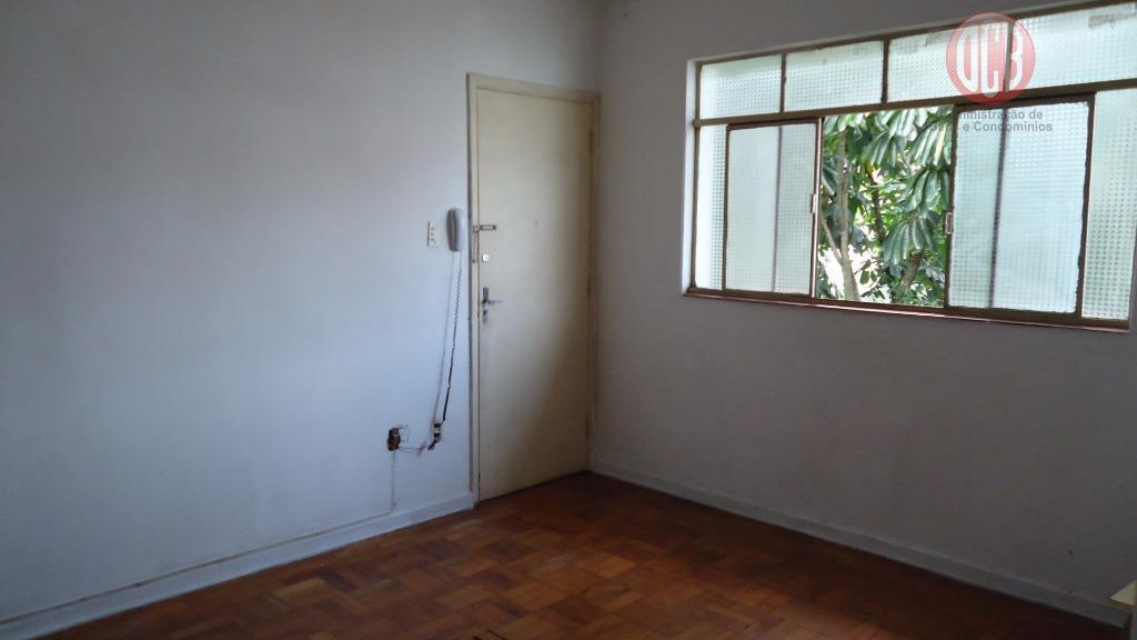 Apartamento  residencial à venda, 60 m², 2 dorm./1 banheiro, Embaré, Santos.