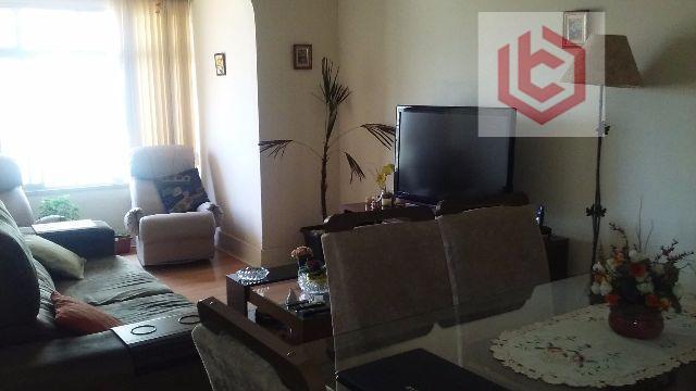 Apartamento residencial à venda, 104 m², 3 dormitórios, 2 banheiros, Campo Grande, Santos.