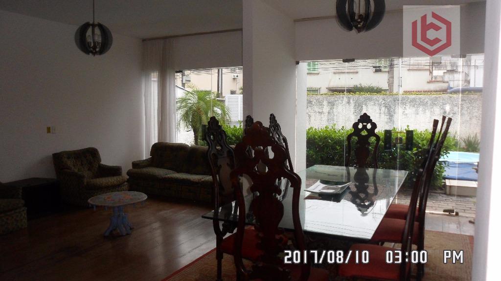Boqueirão, Casa para venda, 3 dormitórios/1 suíte, 3 vagas de garagem, edícula, churrasqueira, piscina, Santos.
