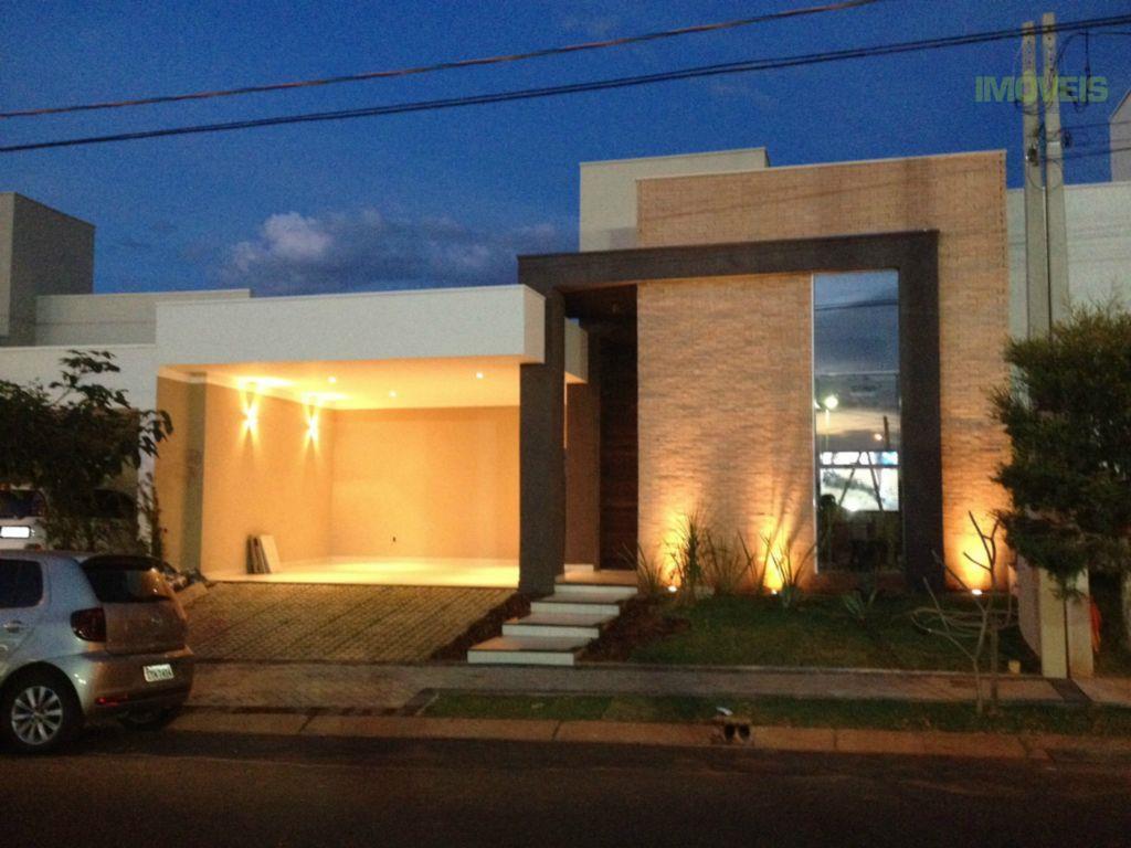 Casa de alto padrão e automatizada no Condomínio Village Damha Rio Preto II, São José do Rio Preto.