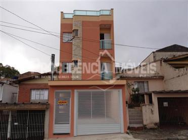 Apartamento  residencial à venda, Vila Alto de Santo André, Santo André.