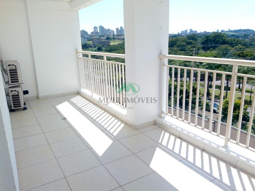 Apartamento com 3 dormitórios para alugar, 128 m² por R$ 2.100/mês - Vila Do Golf - Ribeirão Preto/SP