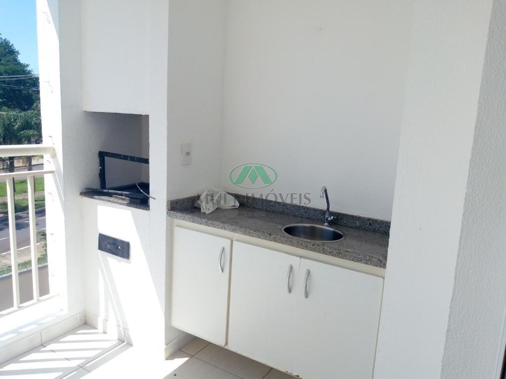 completo em armários, ar condicionado, ventiladores, ampla varanda gourmet, sala 2 ambientes, 2 vagas de garagem,...