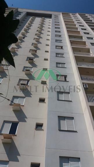 Apartamento com 2 dormitórios para alugar, 57 m² por R$ 1.280/mês - Nova Aliança - Ribeirão Preto/SP