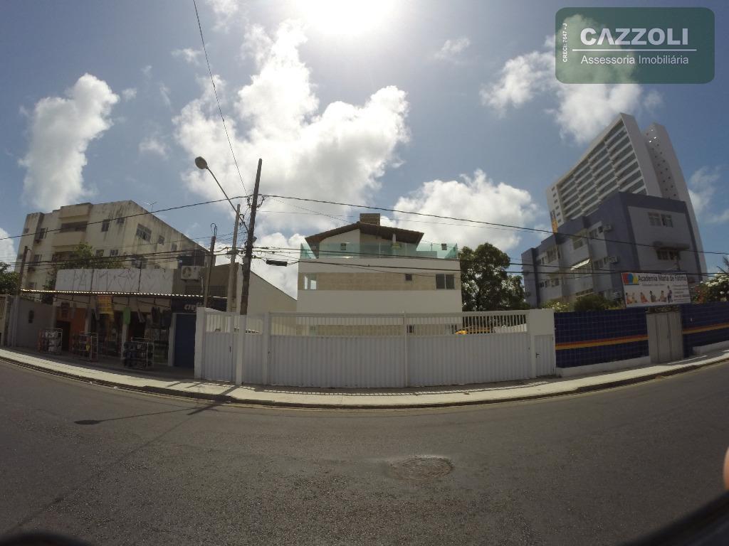 Janga! TRIPLEX com 133 m2, 4 quartos e terraço privativo! Em frente ao Bompreço!