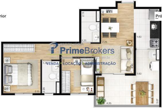 apartamento com 2 dormitórios com 1 suíte e depósito, opção de 1 ou 2 vagas de...