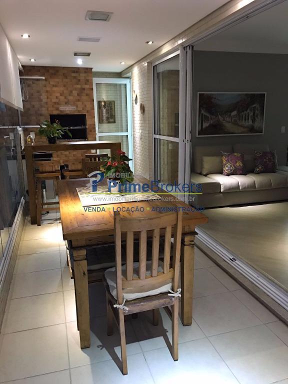 Olimpic Bosque da Saúde 3 dormitórios e terraço gourmet