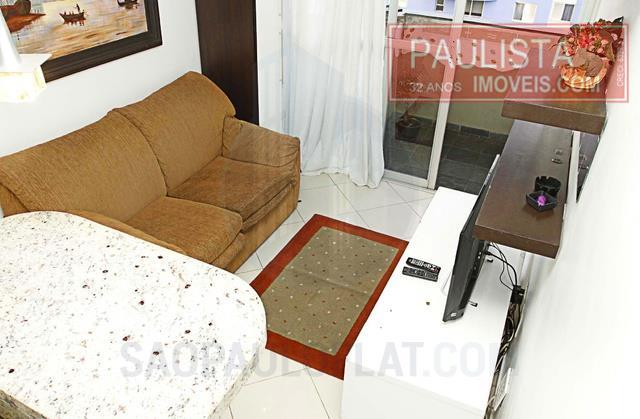 Flat 1 Dorm, Moema, São Paulo (FL0149)