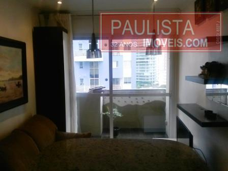 Flat 1 Dorm, Moema, São Paulo (FL0149) - Foto 12