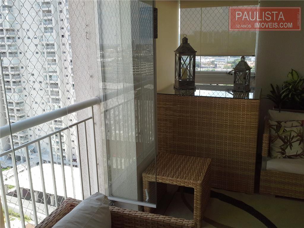 Apartamento residencial à venda, Chácara Santo Antônio (Zona Sul), São Paulo.