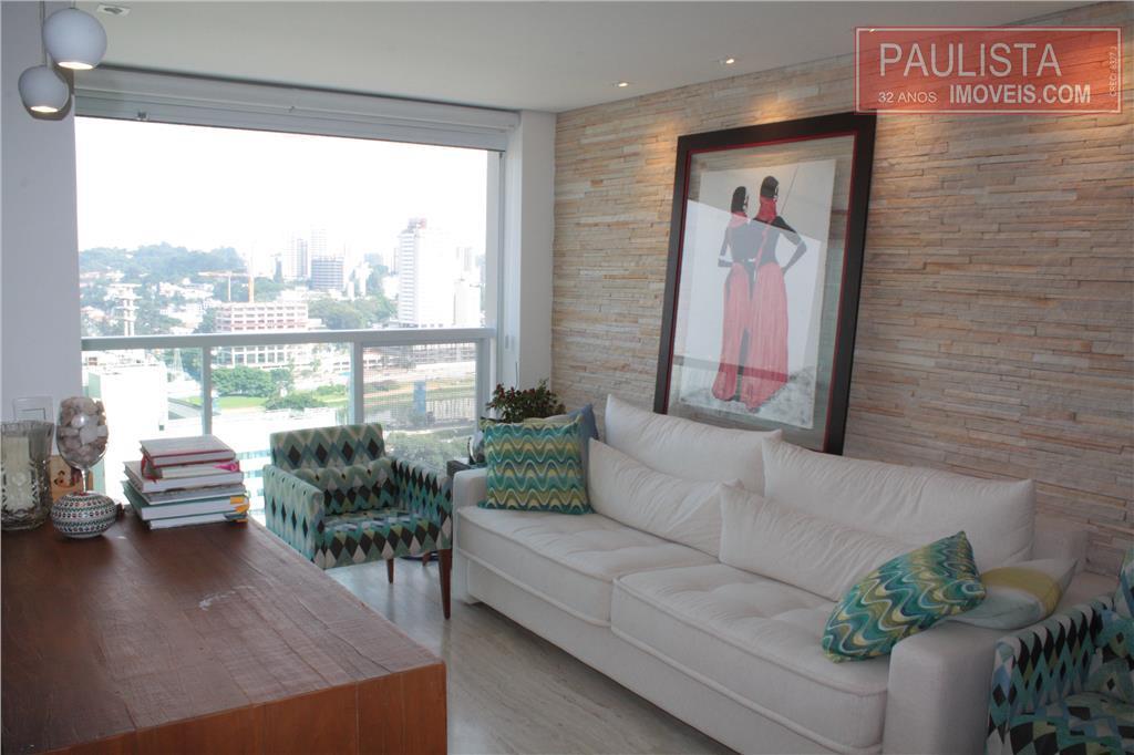 Paulista Imóveis - Apto 2 Dorm, Brooklin (AP11025)