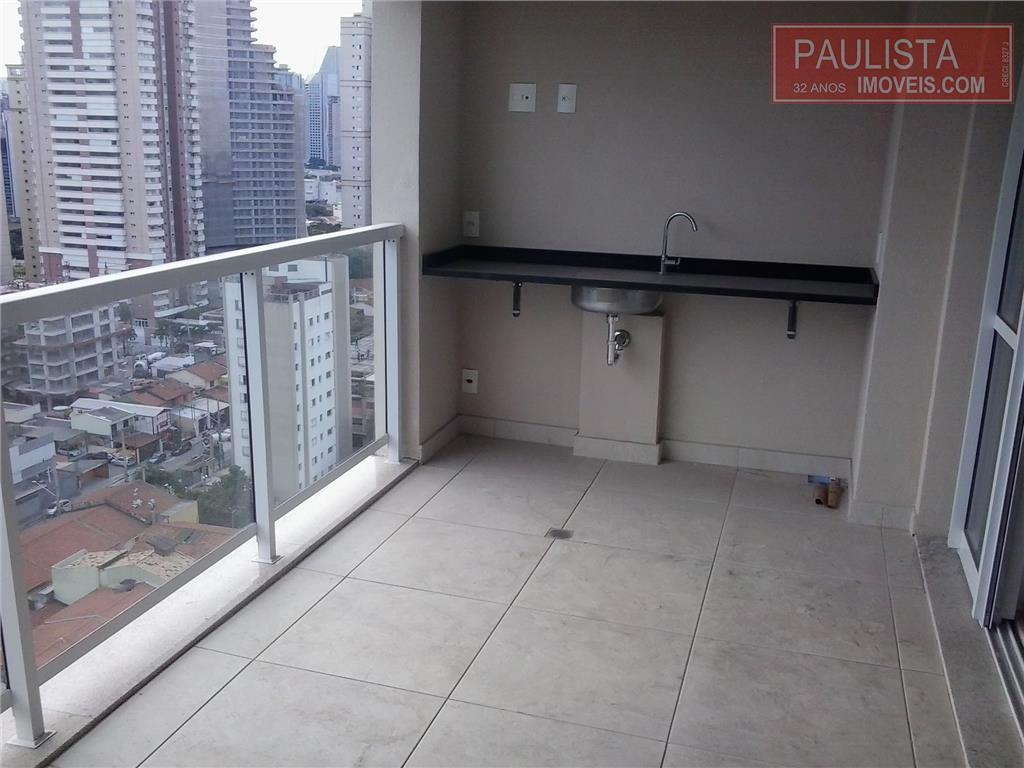 Apto 1 Dorm, Brooklin, São Paulo (AP11986)