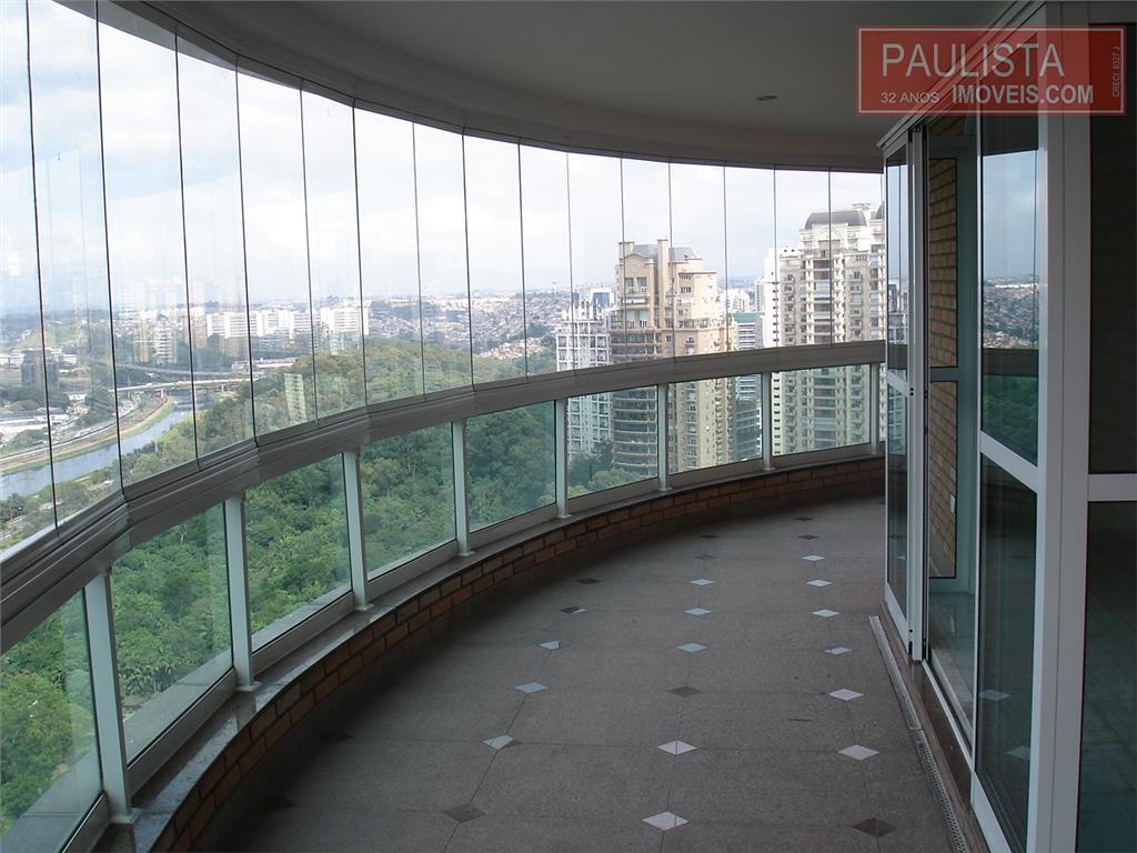 Imóvel: Paulista Imóveis - Apto 4 Dorm, Panamby, São Paulo