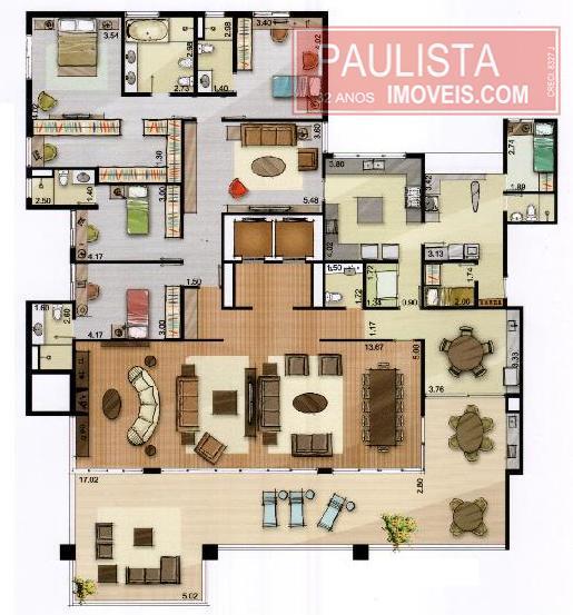 Apto 3 Dorm, Campo Belo, São Paulo (AP12446) - Foto 12