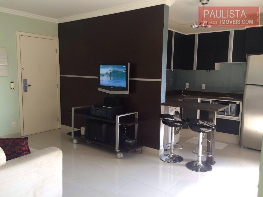 Flat 1 Dorm, Campo Belo, São Paulo (FL0157) - Foto 3