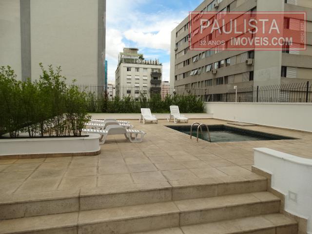 Flat 1 Dorm, Cerqueira César, São Paulo (FL0161) - Foto 19