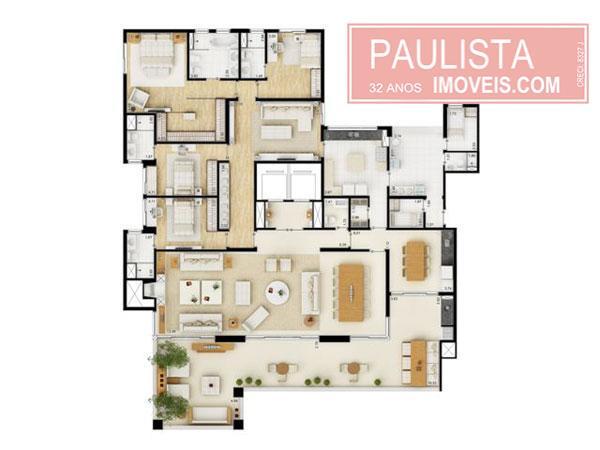 Imóvel: Paulista Imóveis - Apto 2 Dorm, Campo Belo