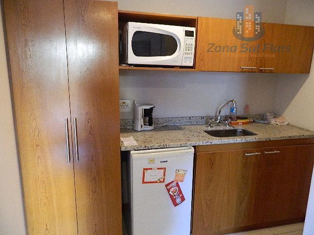flat mobiliado - ótima localização! alto padrão! pronto para morar!piscina térrea, garagem, sauna, sauna seca, bar,...