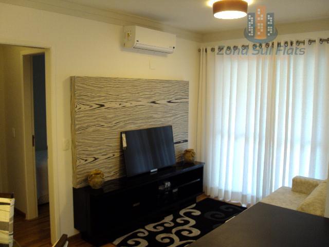 Locação Lindo Apartamento/Flat Alto Padrão Próximo à Paulista