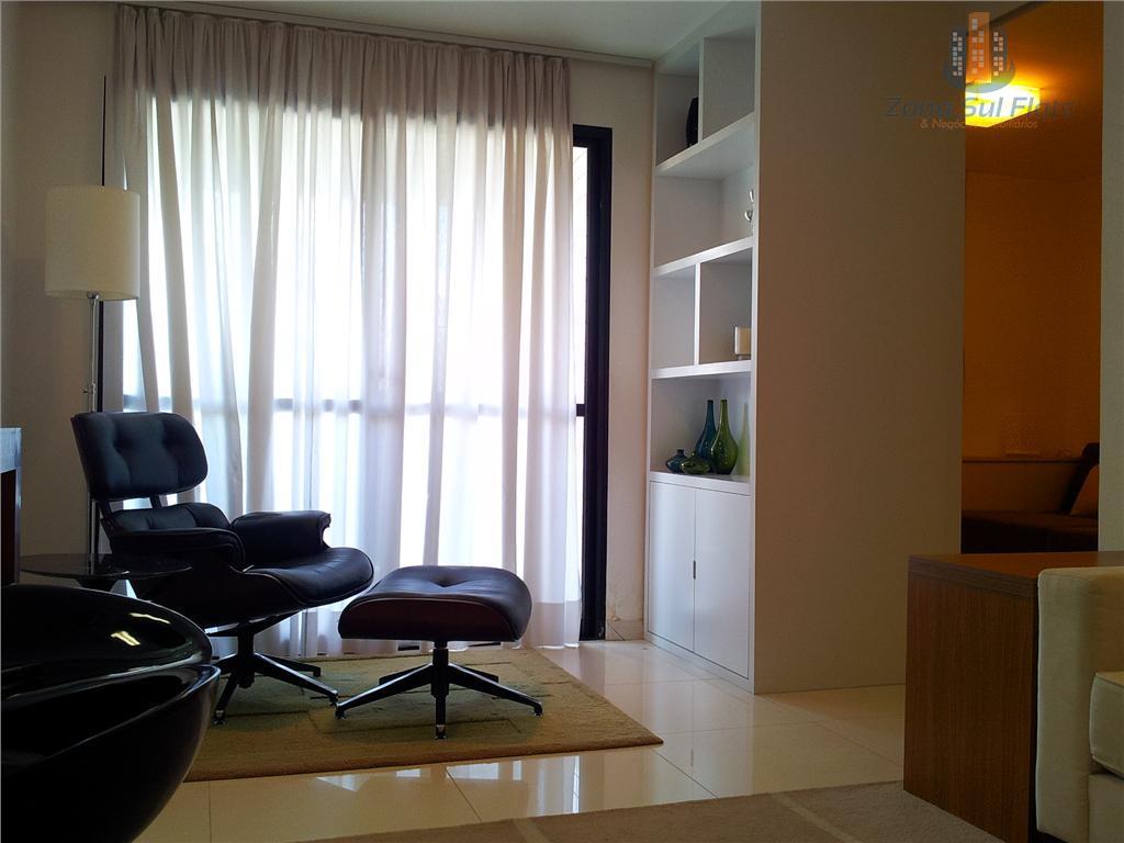 Flat Residencial Para Localização 2 Dormitórios Próximo ao Itaim