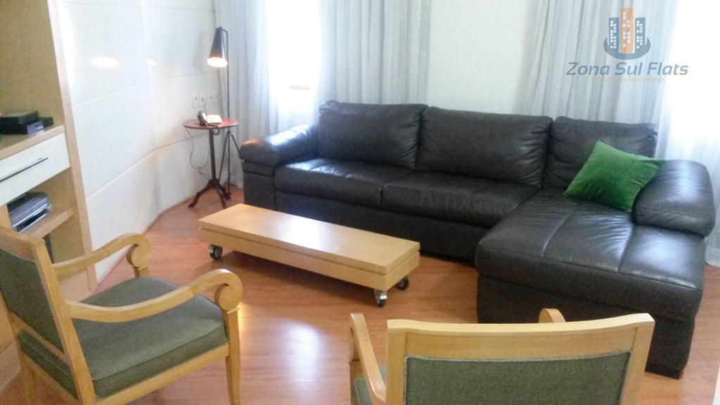 Staybridge Alto Padrão Para Locação no Itaim Bibi 2 Dormitórios