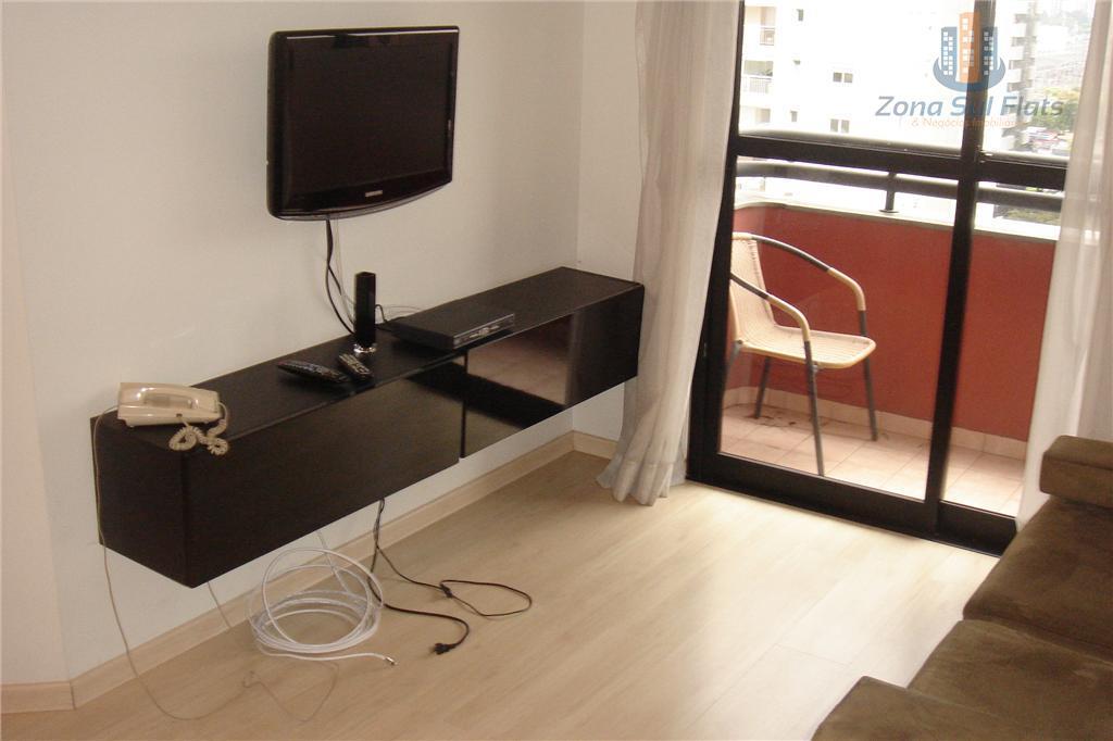 Flat Com 2 Dormitórios Pronto Para Morar no Brooklin