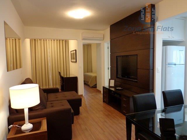 Lindo Apartamento Estilo Flat Para Locação no Coração do Itaim Bibi