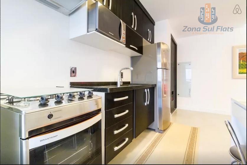 Lindo Apartamento Estilo Flat Para Locação na Berrini - Brooklin