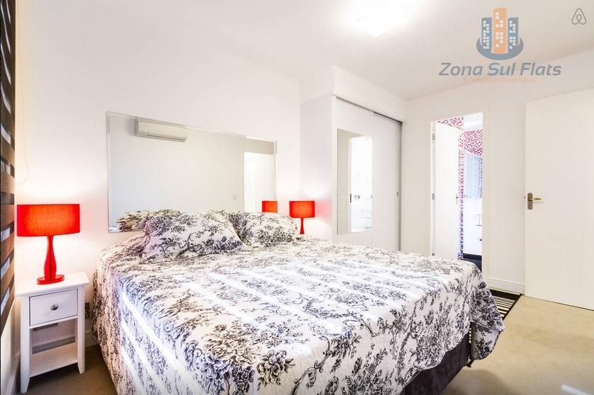 lindo apartamento estilo flat para locação na berrini - brooklinapartamento novo!são 2 quartos sendo 1 suíte...