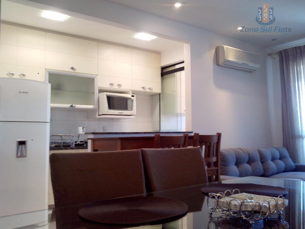 Flat Maravilhoso Para Locação Na Vila Nova Conceição - 2 Dormitórios!