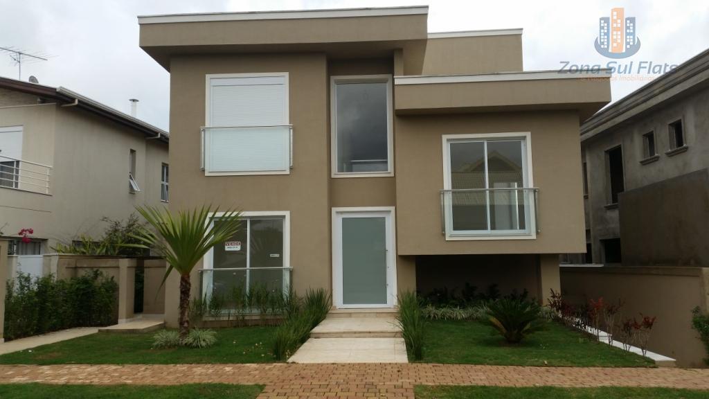 Luxuosa Casa de Alto Padrão à Venda em Condomínio Fechado em Alphaville - 4 Dormitórios Sendo 2 Suítes - 8 Vagas de Garagem!