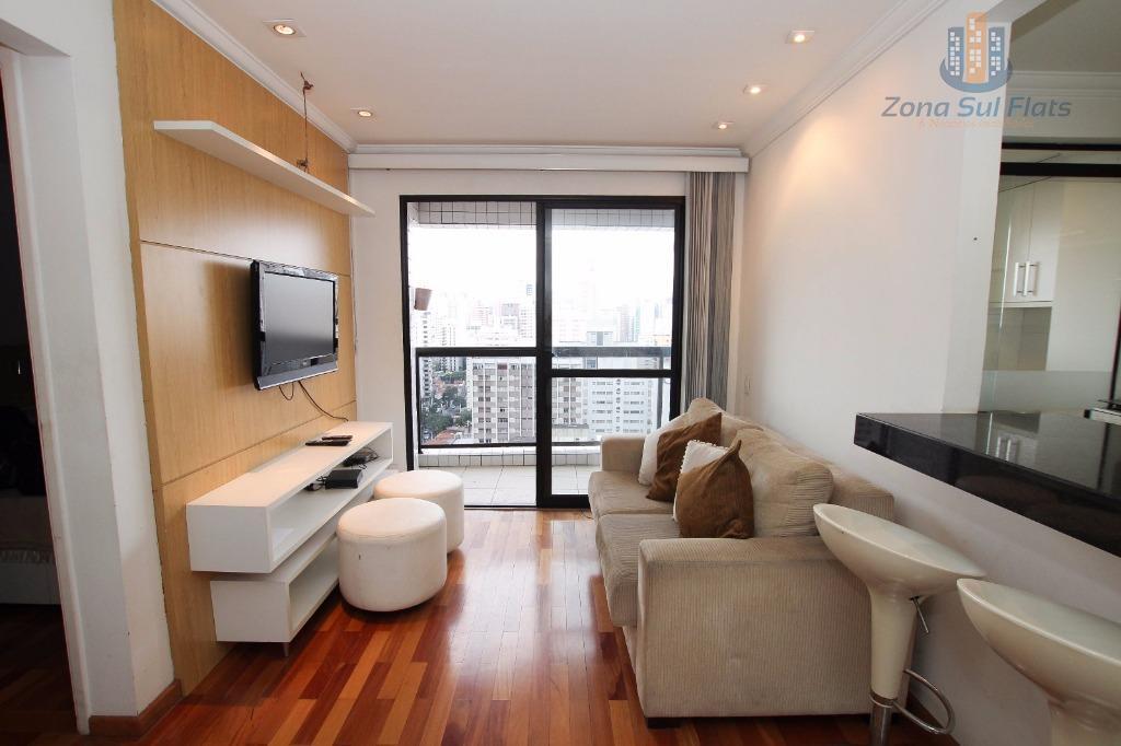Excelente Apartamento Para Locação No Itaim Bibi