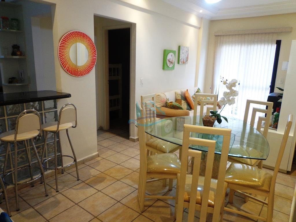 Apartamento  temporada para locação, Praia da Enseada - Hotéis, Guarujá.