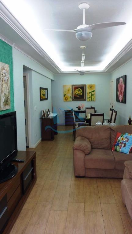 Apartamento  residencial à venda, Praia da Enseada - Hotéis, Guarujá.