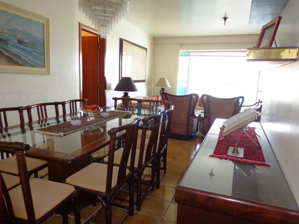 Apartamento  residencial para venda e locação, Morro do Maluf, Guarujá.
