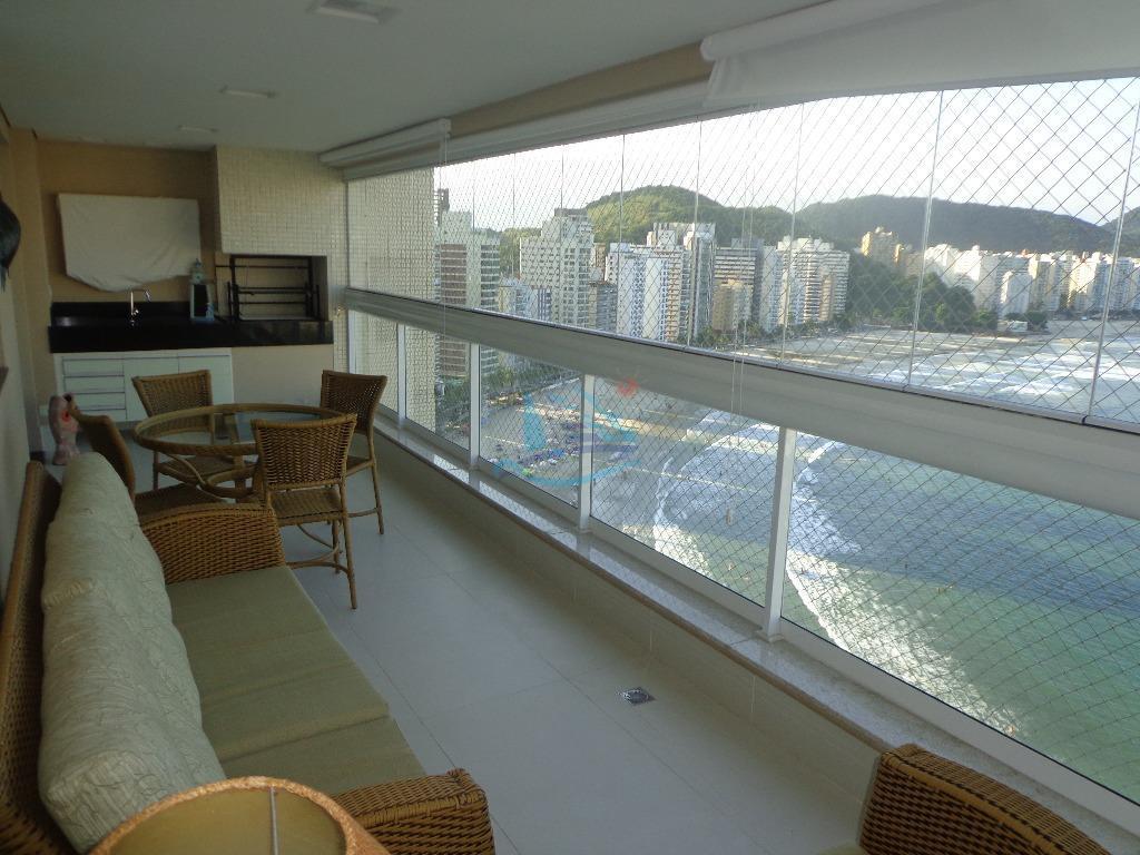 Apartamento residencial à venda, Praia das Astúrias, Guarujá.