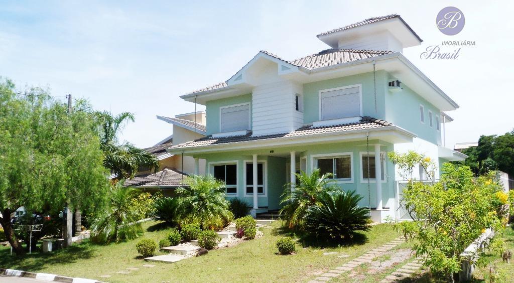 Casa residencial para locação, Condomínio Bosques de Grevílea, Vinhedo.