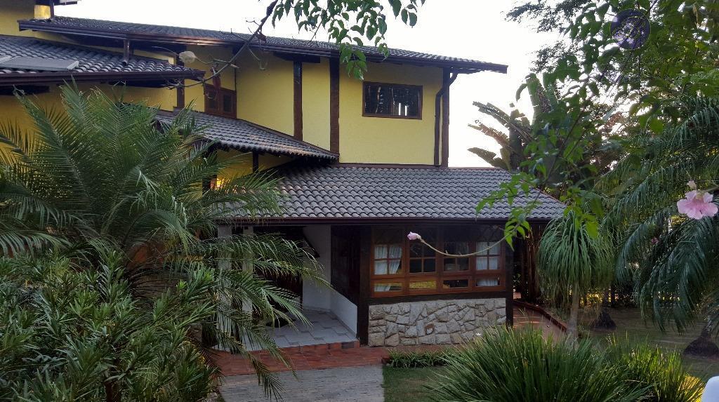 Casa residencial para venda e locação, Condomínio Estância Marambaia, Vinhedo - CA1009.