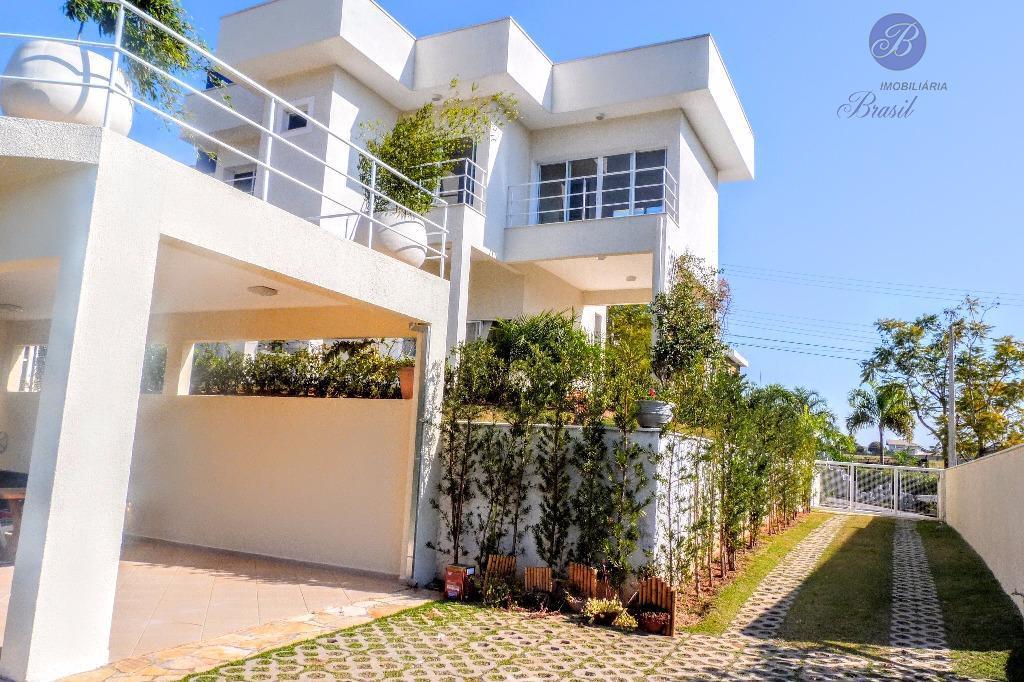 Casa residencial para locação, Condomínio Jardim Primavera, Louveira - CA1042.