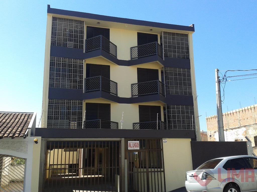 Apartamento com 1 dormitório para alugar, 40 m² - Centro - Bauru/SP