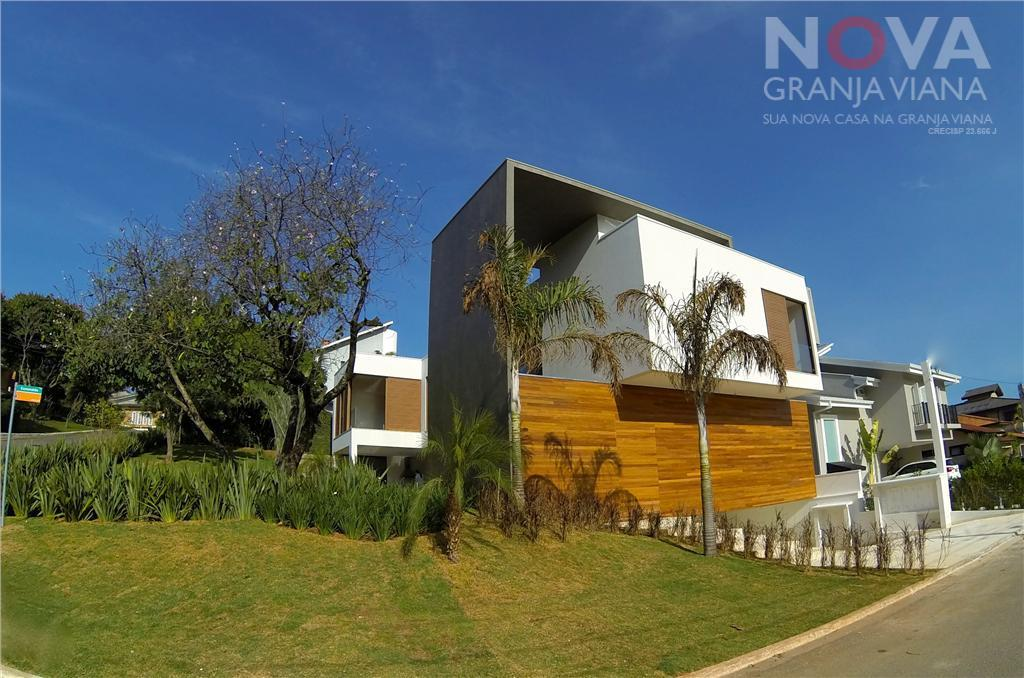 Casa residencial à venda, Residencial Nove (Alphaville), Santana de Parnaíba - CA1041.