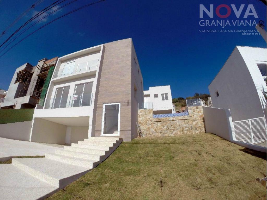 Casa residencial à venda, Alpha Sítio, Santana de Parnaíba - CA1108.