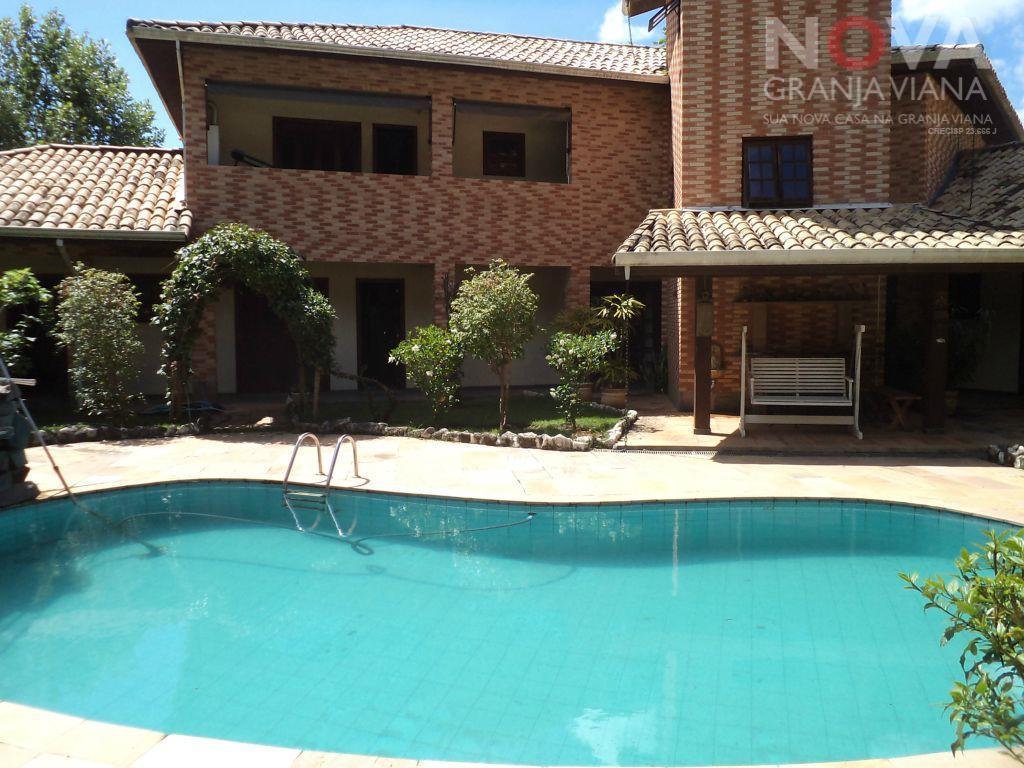 Casa residencial à venda, Vila de São Fernando, Cotia - CA0671.