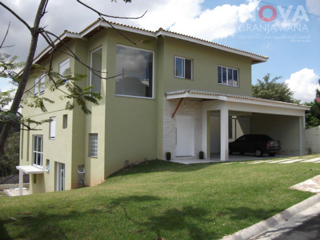 Casa residencial à venda, Nova Higienópolis, Jandira - CA0107.
