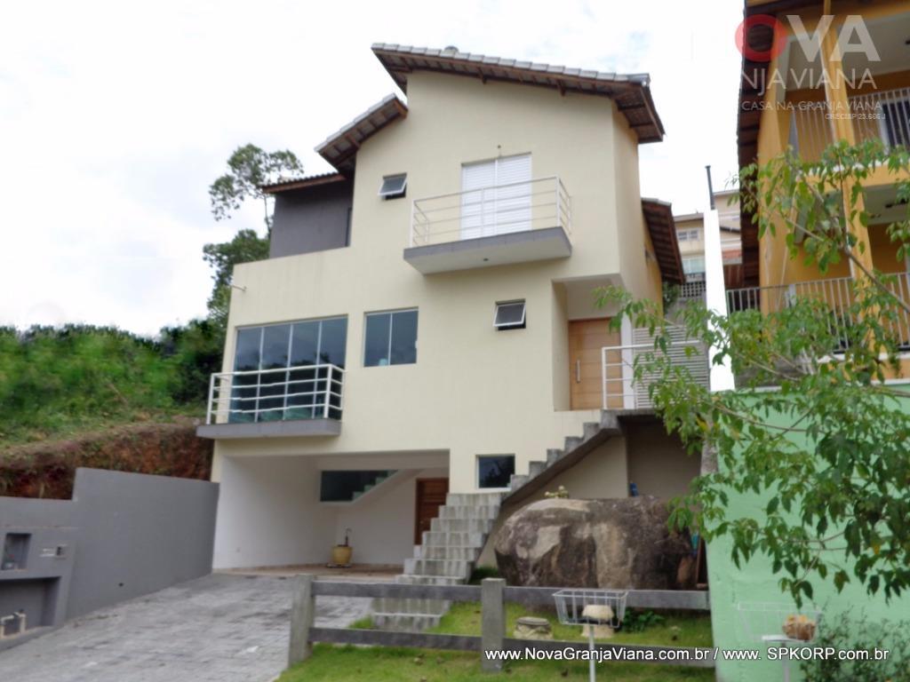 Casa residencial à venda, Nova Paulista, Jandira - CA1315.