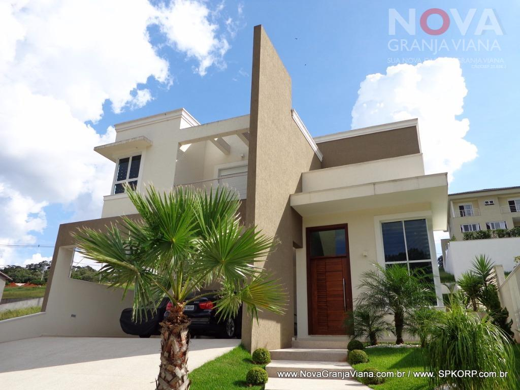 Casa residencial à venda, Reserva Santa Maria, Jandira - CA1317.