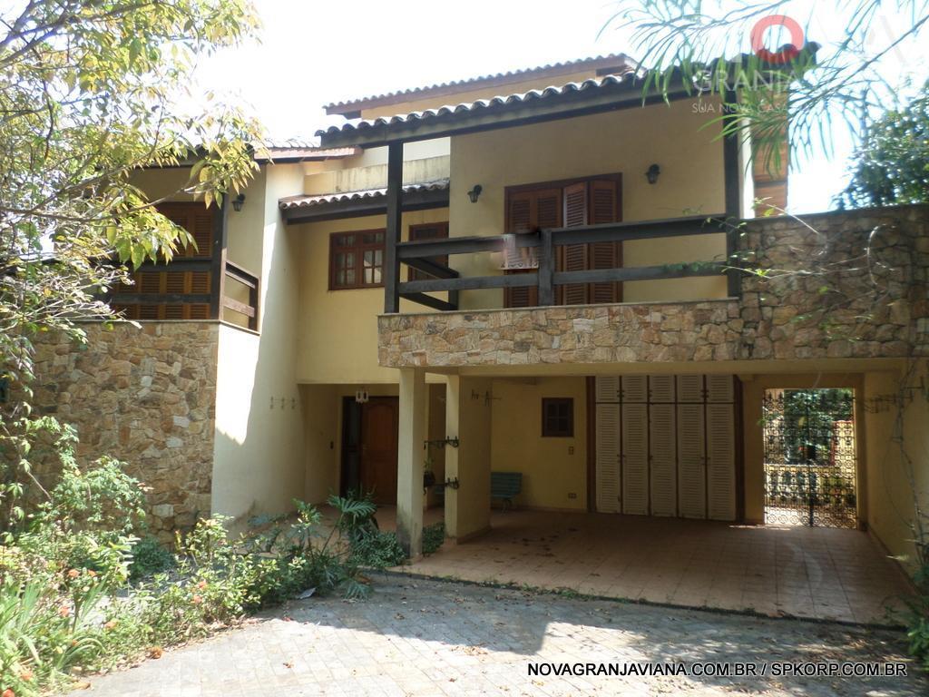 Casa residencial à venda, Residencial Nove (Alphaville), Santana de Parnaíba - CA1367.