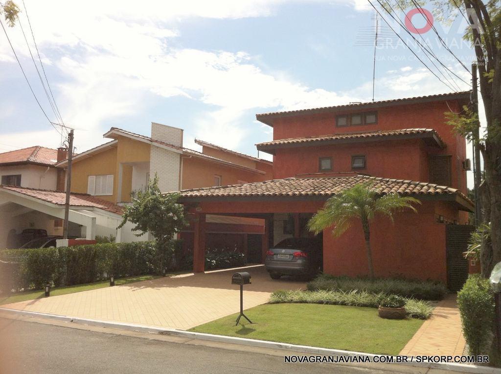 Casa residencial à venda, Residencial Nove (Alphaville), Santana de Parnaíba - CA1369.